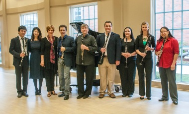 Artists and faculty at Troy Clarinet Day 2014