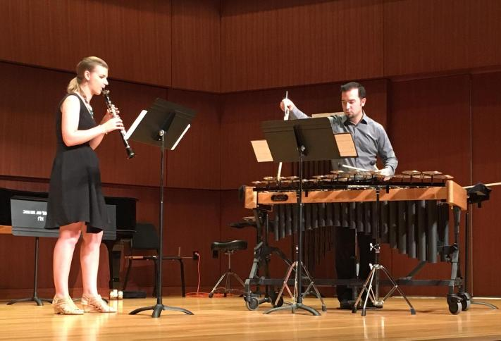 Sources Duo at ClarinetFest 2016